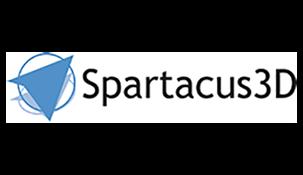 Spartacus 3D web logo