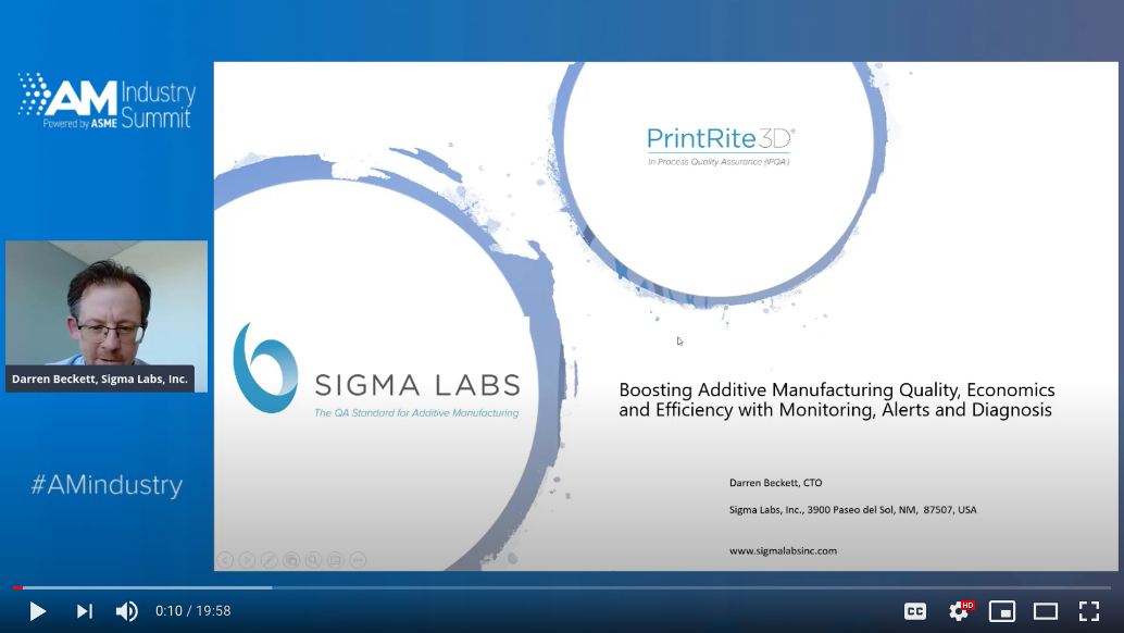 How to achieve additive manufacturing quality economics and efficiency presentation